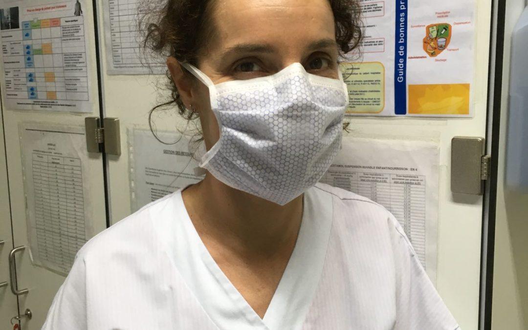 Anne, infirmière.